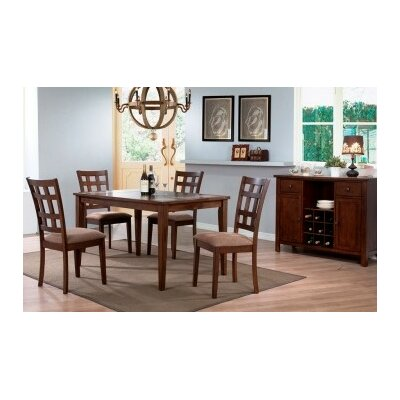 Urban Styles Montecito 5 Piece Dining Set