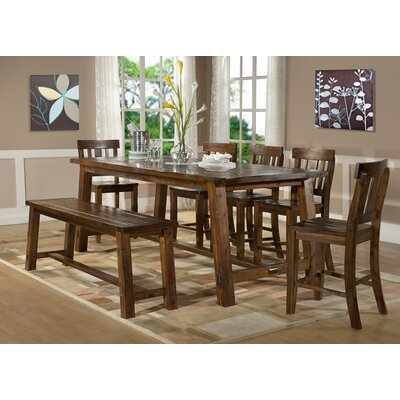 Urban Styles Sonoma Vintage 8 Piece Counter Height Dining Set