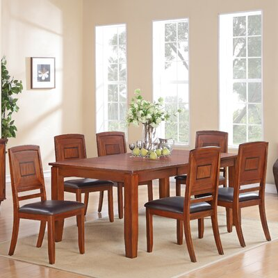 Urban Styles Augusta 7 Piece Dining Set