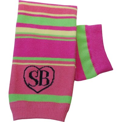 Snazzy Baby My Baby's Leg Warmers in Pink Pizzazz