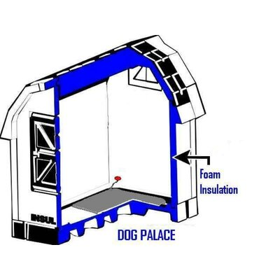 ASL Solutions Dog Palace Large Dog House