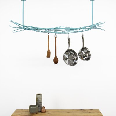 U Shaped Pot Rack