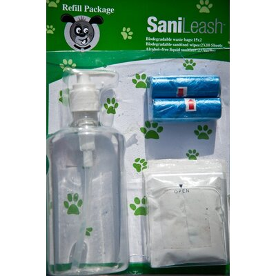 SaniLeash Sanileash Refill Pack of Liquid Sanitizer