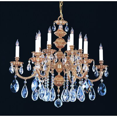 Crystorama Oxford 12 Light Chandelier