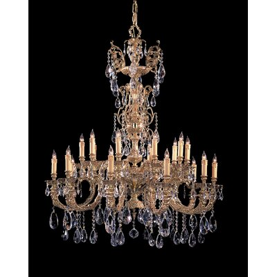 Crystorama Kensington 20 Light Chandelier
