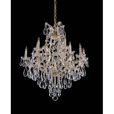 Crystorama Maria Theresa 13 Light Chandelier