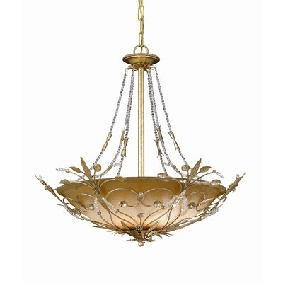 Crystorama Primrose 6 Light Chandelier