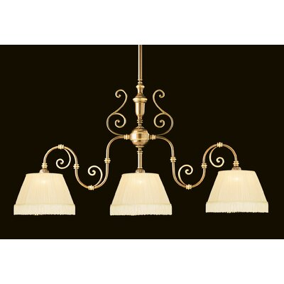 Crystorama Birmingham 3 Light Kitchen Island Pendant / Billiard Light