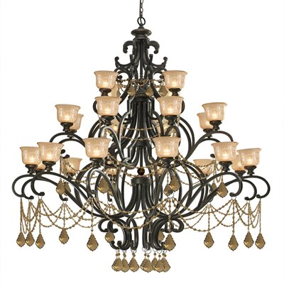 Crystorama Norwalk 24 Light Chandelier