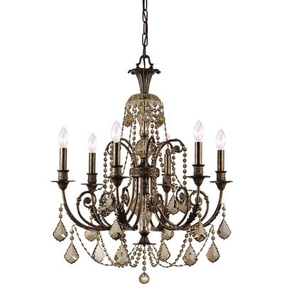 Regis 6 Light Chandelier