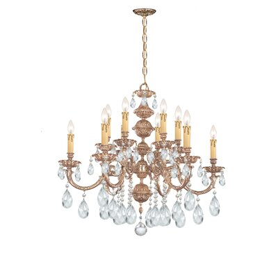 Oxford 12 Light Chandelier