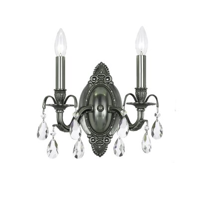 Crystorama Dawson 2 Light Wall Sconce