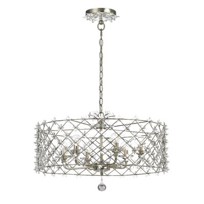 Crystorama Willow 6 Light Chandelier