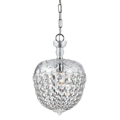 Crystorama Celia 1 Light Pendant
