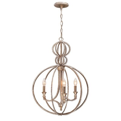 Garland 3 Light Chandelier