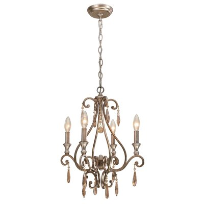 Crystorama Shelby 4 Light Chandelier