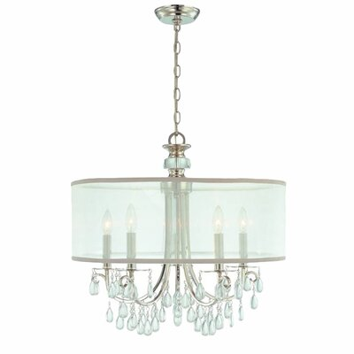 Hampton Chandelier in Chrome