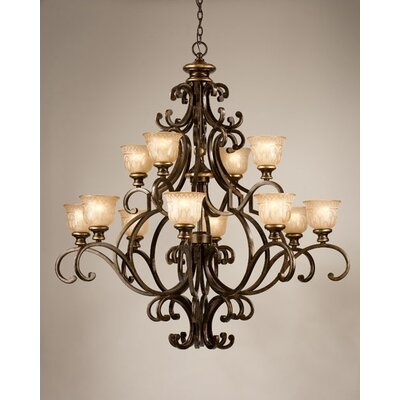 Norwalk 12 Light Chandelier