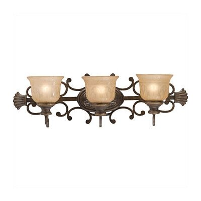 Crystorama Norwalk 3 Light Vanity Light