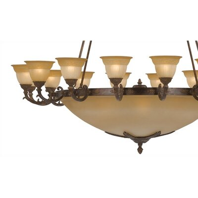 Crystorama Oxford 24 Light Chandelier