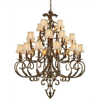 Royal 24 Light Chandelier