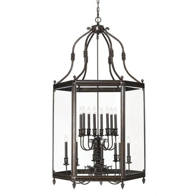 Crystorama Windsor 16 Light Hanging Lantern