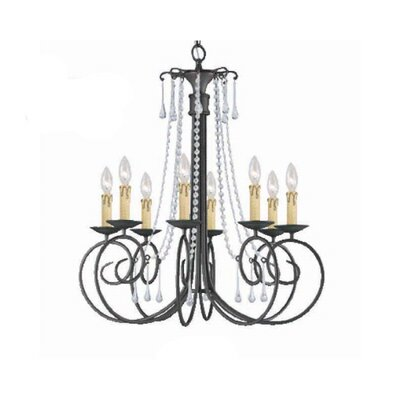 Soho 8 Light Chandelier