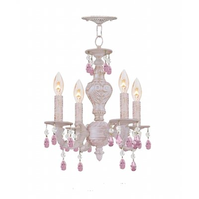Crystorama Sutton 4 Light Mini Chandelier