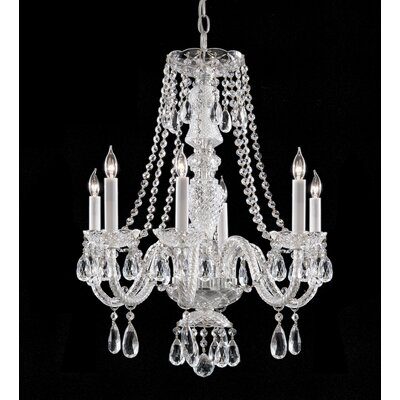 Bohemian Crystal Chandelier with Crystals