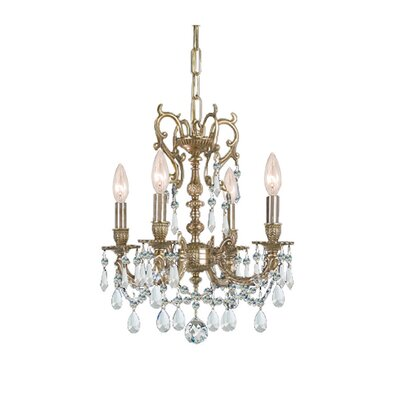 Gramercy 4 Light Crystal Mini Chandelier
