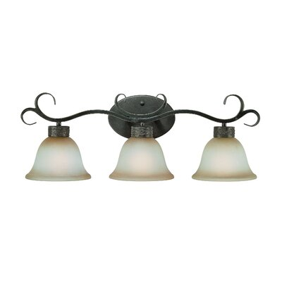 Jeremiah Brookshire Manor 3 Light Bath Vanity Light