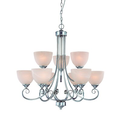 Jeremiah Raleigh 9 Light Chandelier
