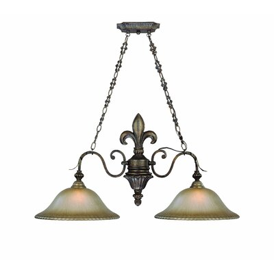 Jeremiah Devereaux 2 Light Chandelier