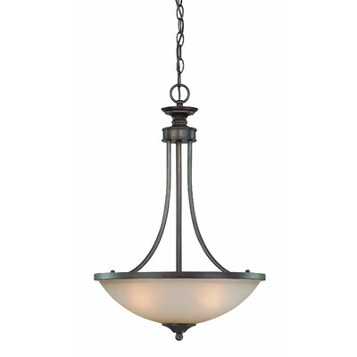 Jeremiah Spencer 3 Light Inverted Pendant