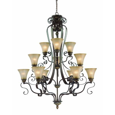 Kingsley 12 Light Chandelier