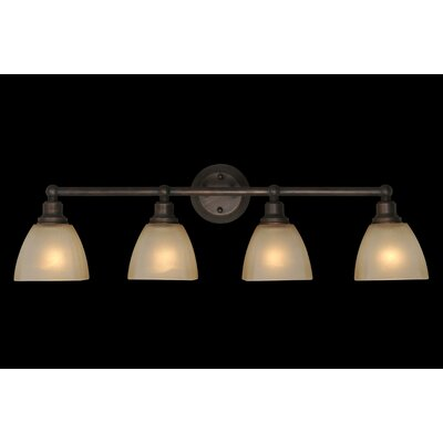 Jeremiah Bradley 4 Light Bath Vanity Light
