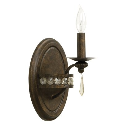 Jeremiah Cortana 1 Light Wall Sconce
