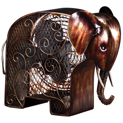Elephant Shaped Figurine Fan