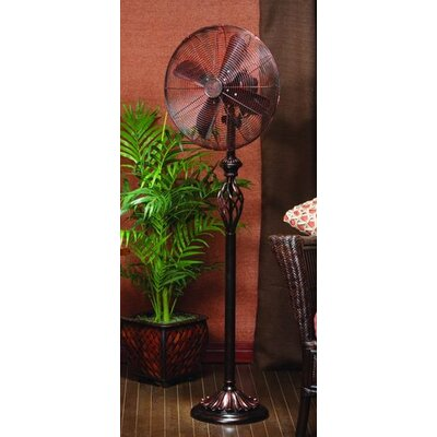 Prestige Decorative Floor Fan in Rustica