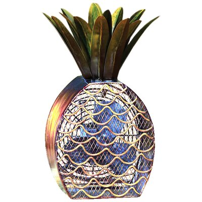 <strong>Deco Breeze</strong> Pineapple Shaped Figurine Fan