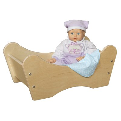Wood Designs Doll Bed in Tuff Gloss