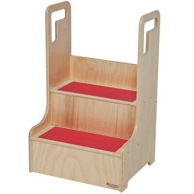 Wood Designs Step-Up-N-Wash Step Stool