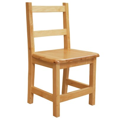 """Wood Designs 13"""" Wood Classroom Glides Chair (Set of 2)"""