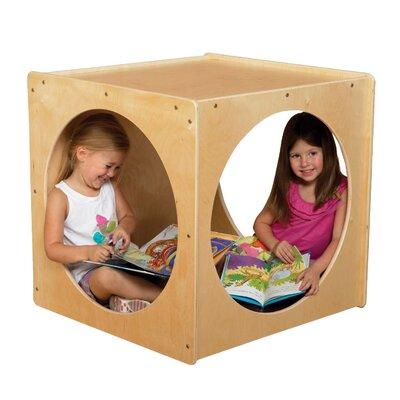 Wood Designs Giant Crawl Through Play Cube