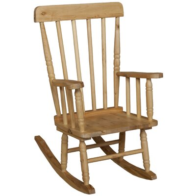 Wood Designs Children's Rocking Chair