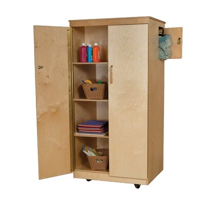 Wood Designs Teacher's Locking Cabinet