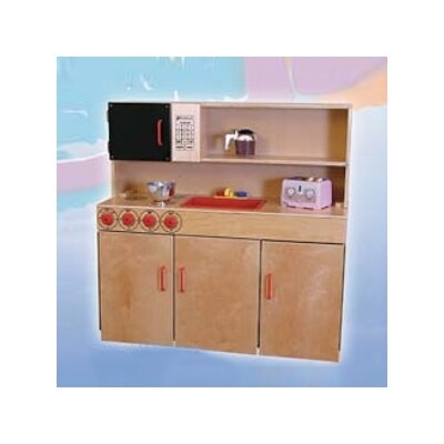 Wood Designs Healthy Kids 5-N-1 Kitchen Center