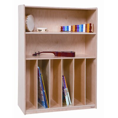 Wood Designs Tip-Me-Not Multi Purpose Bookcase