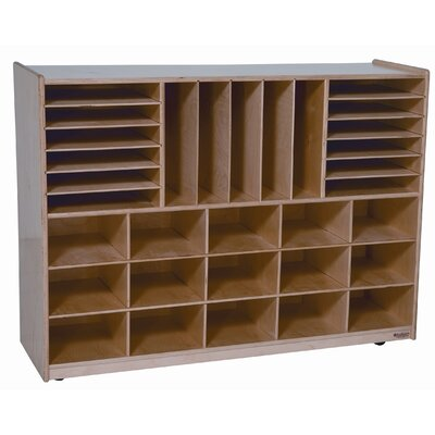 Wood Designs Multi Storage Unit 31 Compartment Cubby