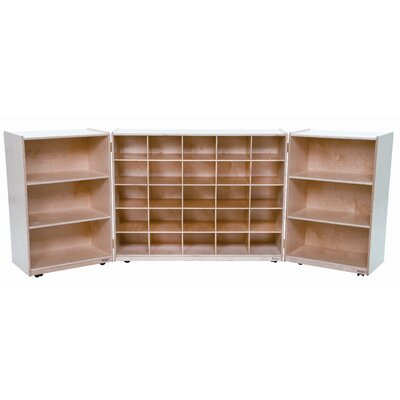 Wood Designs Tri Fold Storage Unit